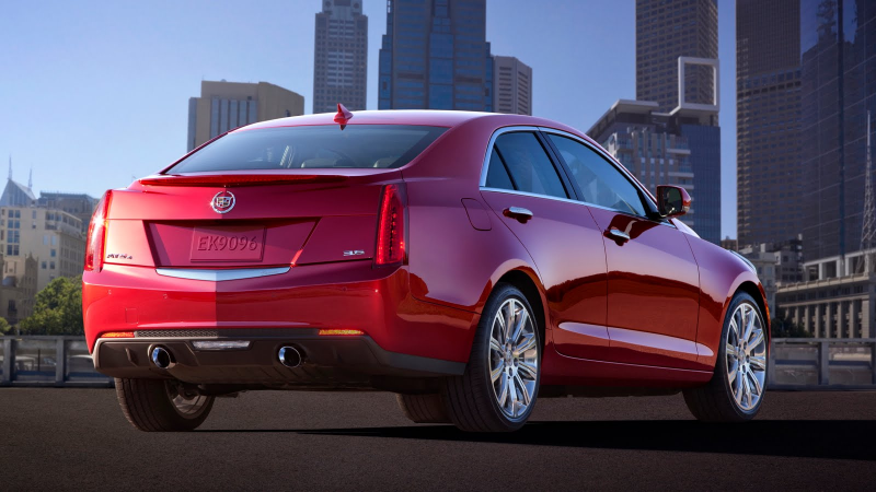 2013 Cadillac ATS Sports Sedan Photos Hit the Web