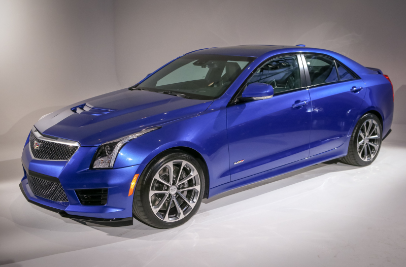 Cadillac ATS-V Unveiled In Los Angeles
