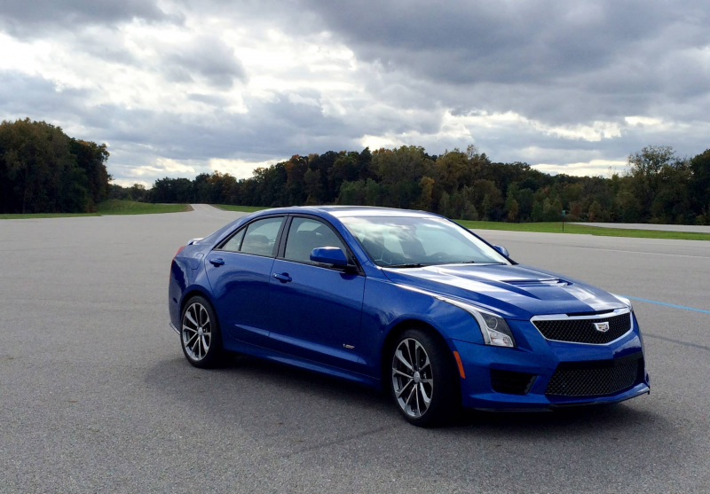 2016 Cadillac ATS-V Sedan Wallpaper - Image Detail