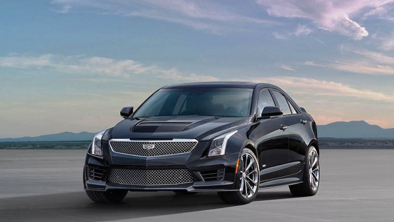 2016 Cadillac ATS-V Sedan Review