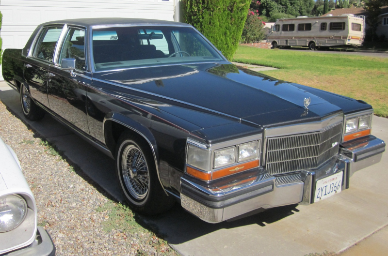 1988 Cadillac Brougham Overview