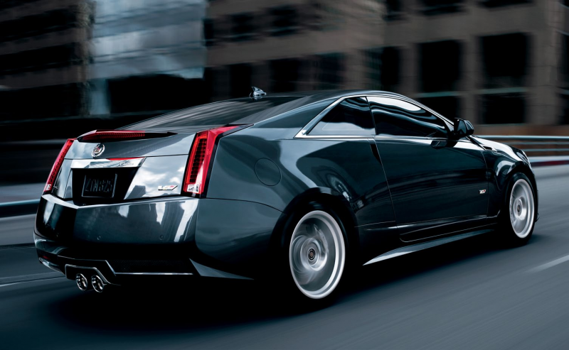Cadillac 2011 CTS Coupe rear view