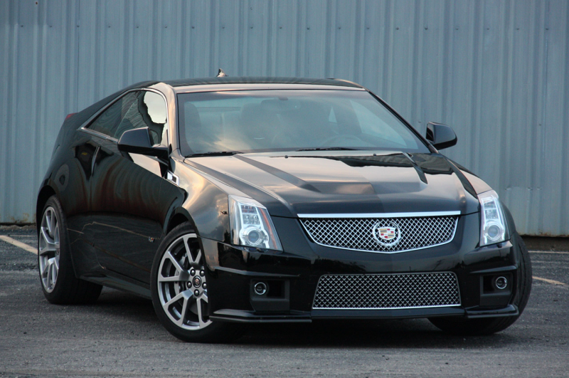 Cadillac CTS-V Coupe 2011 – Cadillac To The Bone [+photos]