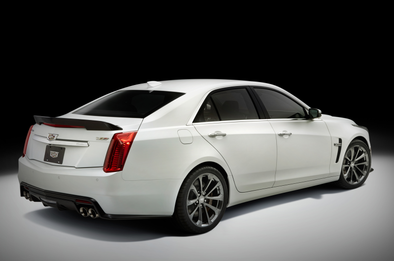 TOTD: Does the 2016 Cadillac CTS-V Need a Manual Option? Photo Gallery