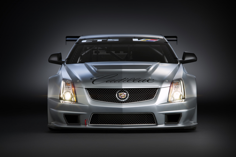 Cadillac CTS-V Race Car Hits the Track for the First Time