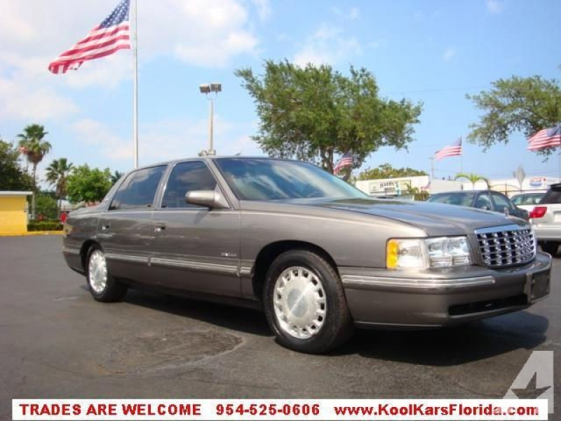 1998 Cadillac DeVille for sale in Fort Lauderdale, Florida