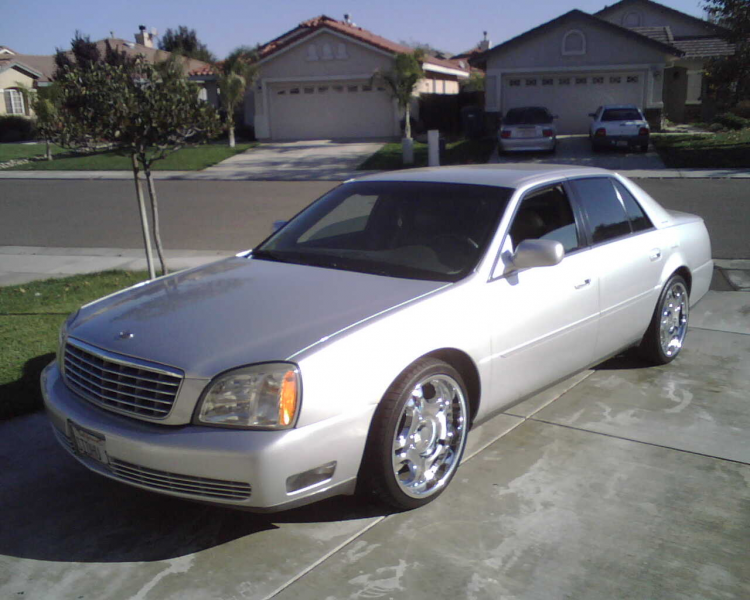 Picture of 2003 Cadillac DeVille DTS, exterior