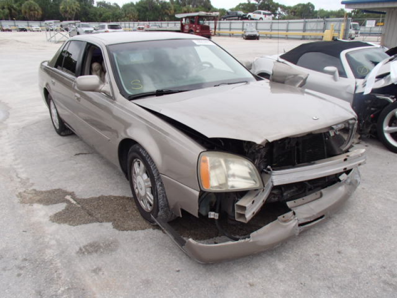 cars cadillac deville 2003 fort pierce