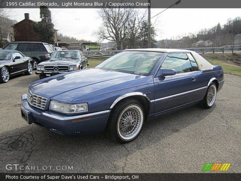 1995 Cadillac Eldorado in Light Montana Blue. Click to see large photo ...