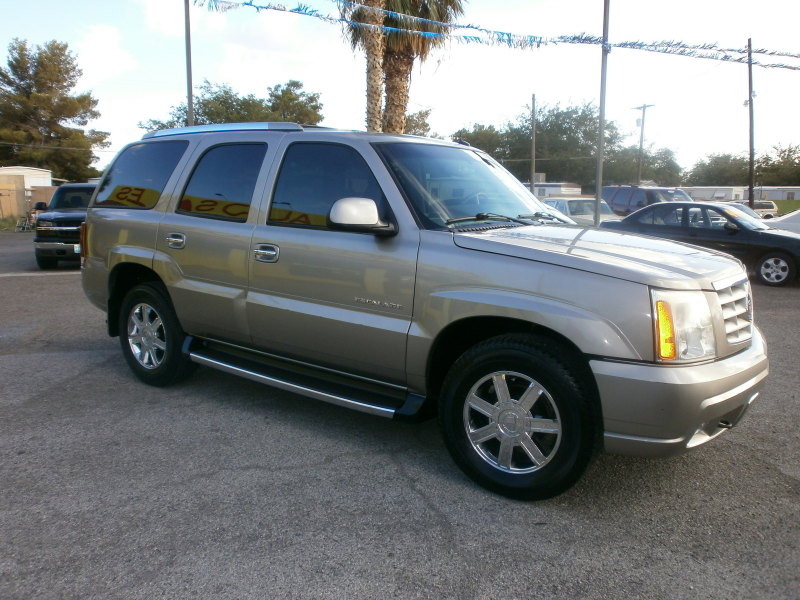 What's your take on the 2002 Cadillac Escalade?