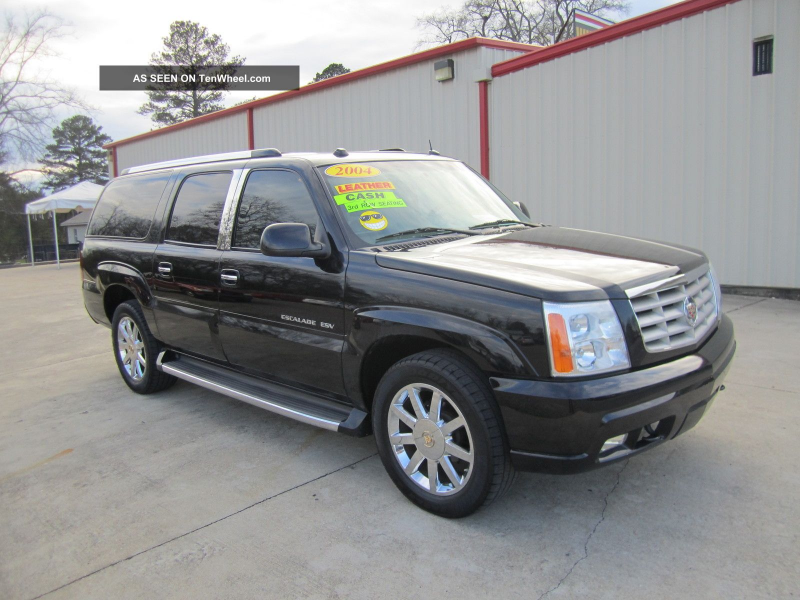 2004 Cadillac Escalade Esv Sport Utility 4 - Door 6. 0l Escalade photo