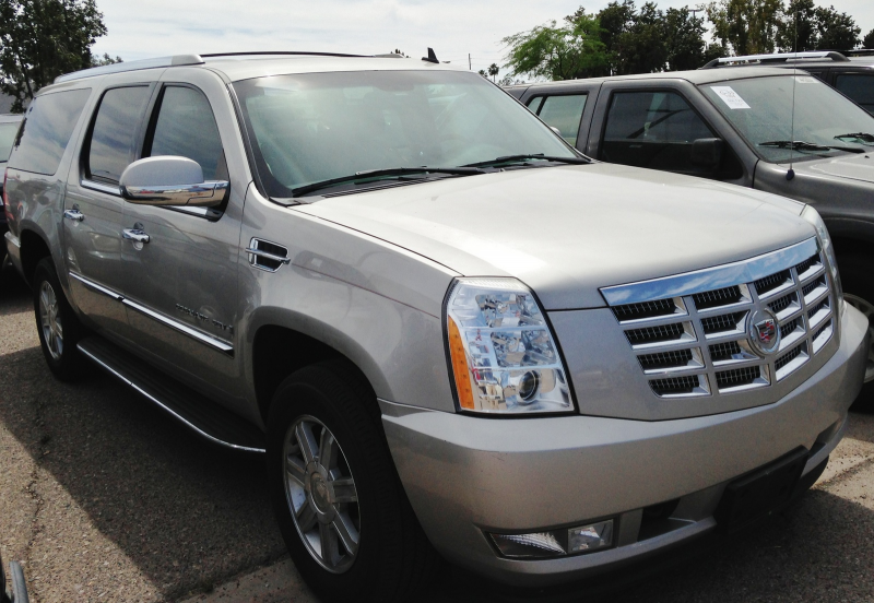 What's your take on the 2008 Cadillac Escalade ESV?