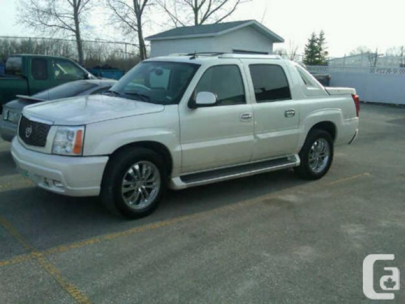 2005 Cadillac Escalade EXT in Winnipeg, Manitoba for sale