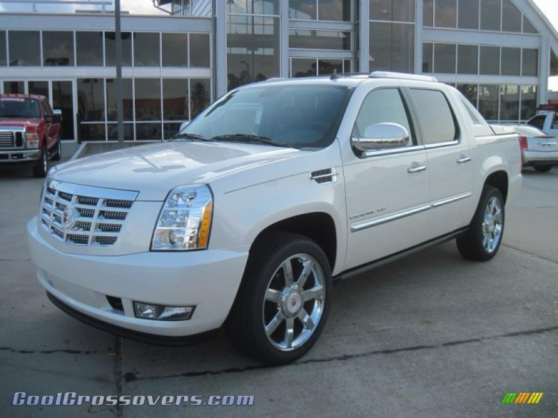 2011 Escalade EXT Premium AWD - White Diamond Tricoat / Ebony/Ebony ...