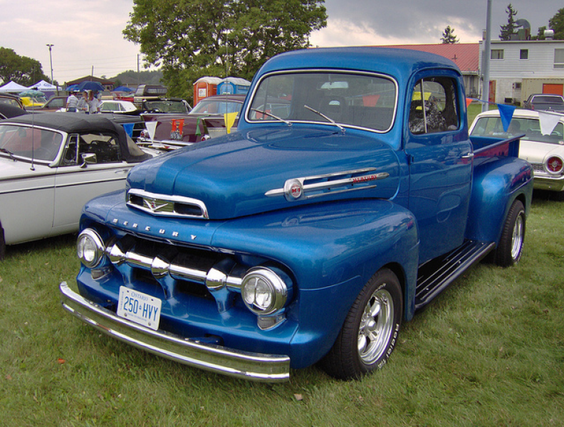 Mercury Pickup Truck.