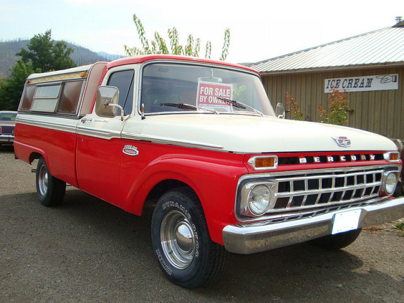 1965 Mercury M-100 Pickup Truck (Ford of Canada)