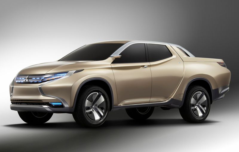 Mitsubishi Previews New L200 with Hybrid Pickup Concept - Photo ...