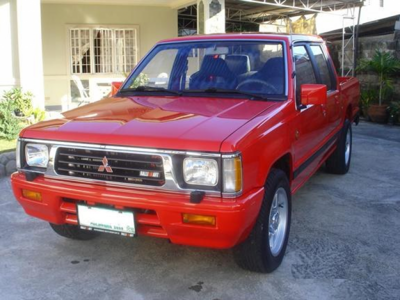 Another sanmiguelmd 1997 Mitsubishi L200 post...
