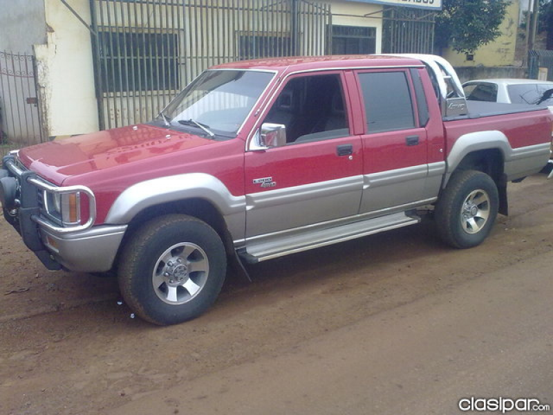 MITSUBISHI L200 TURBO RALLY, AÑO 1997, 4X4, CARPITA, LLANTA, MP3 ...