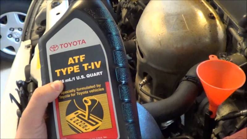 how-to-change-transmission-fluid-on-2002-2004-toyota-camry-video-60803 ...