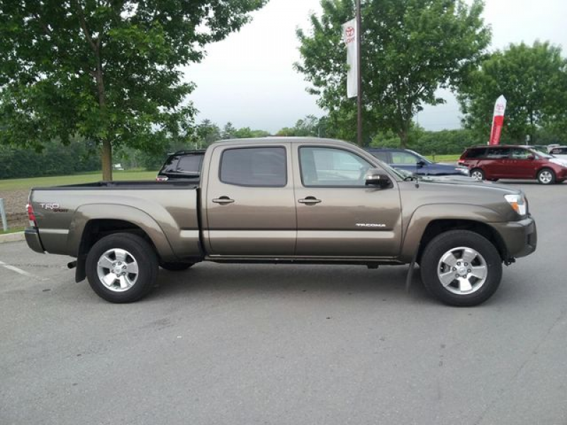 2012 Toyota Tacoma Double Cab Long Bed V6 Auto 4WD in Whitby, Ontario ...
