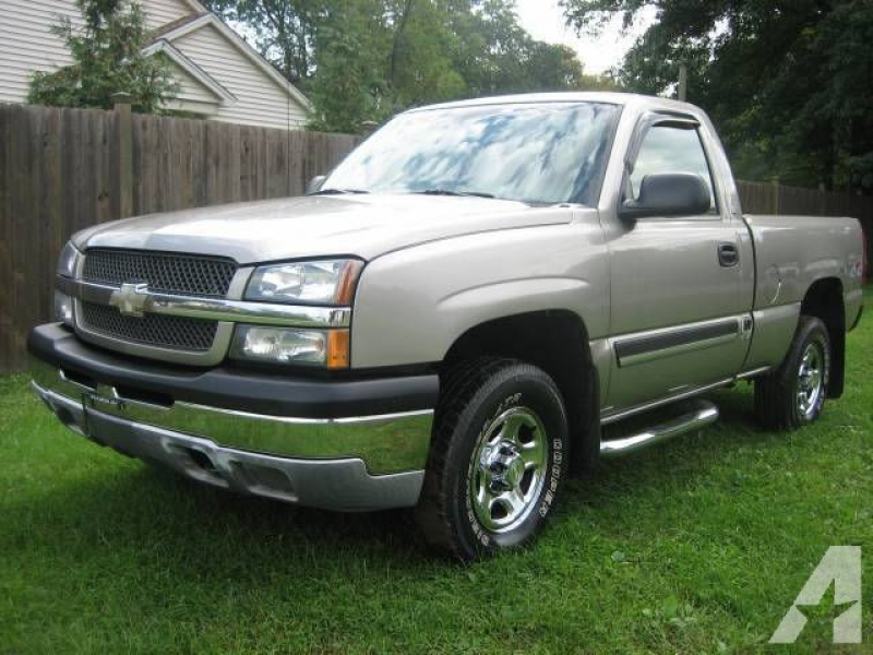 Options Included: 2 Door, 4 Wheel Drive2003 Chevy 1500 Pickup 4x4 ...