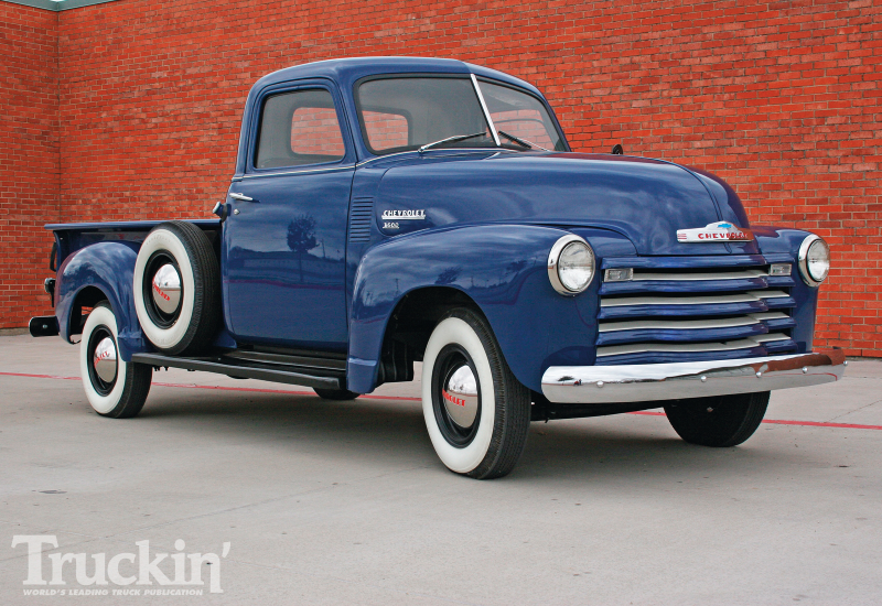 1950 Chevy Pickup Right Front Angle