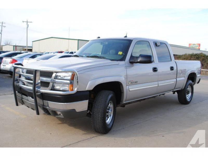 2004 Chevrolet Silverado 2500 H/D for sale in Eufaula, Oklahoma