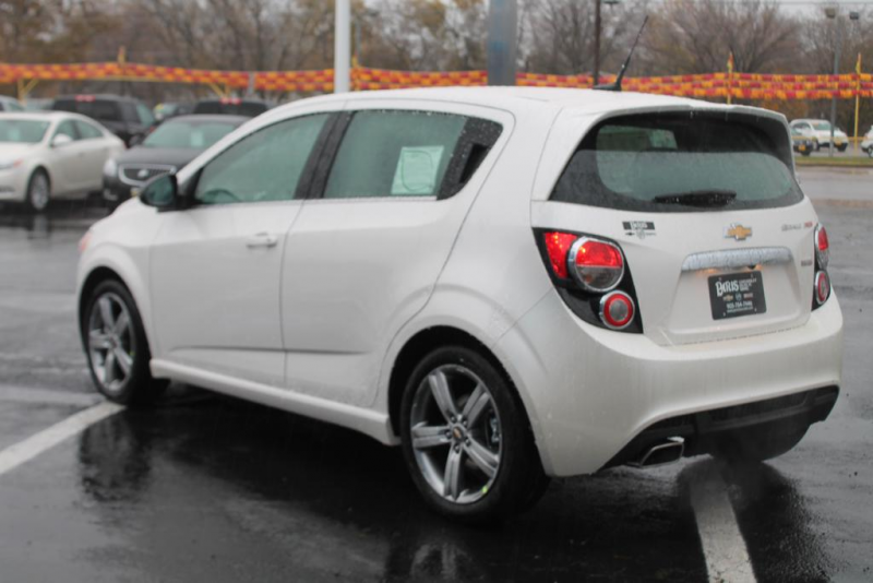 New 2014 Chevrolet Sonic RS