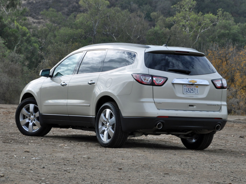 2014 Chevrolet Traverse Test Drive Review
