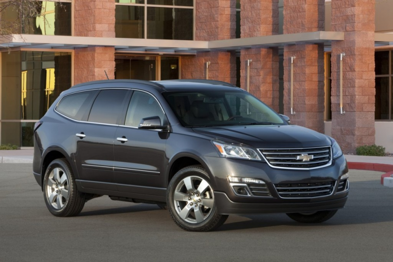 2014 Chevrolet Traverse - Photo Gallery