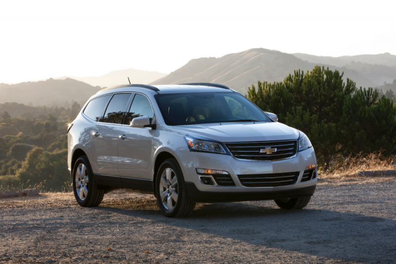 2014 Chevrolet Traverse Gets One New Feature: RPO Central
