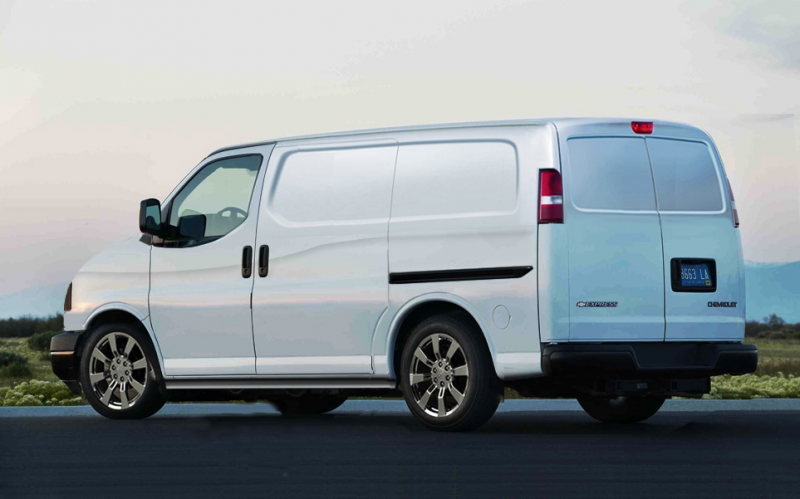 Thread: Chevy Express2 - Cargo Van