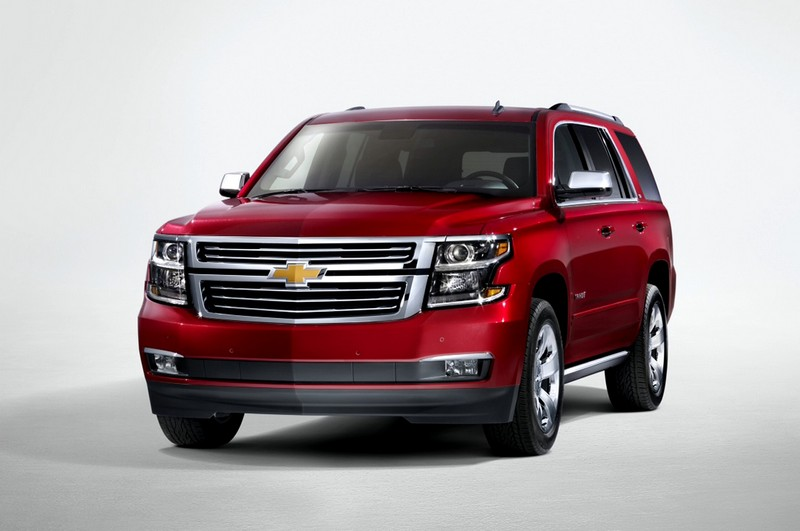 chevy tahoe front angle