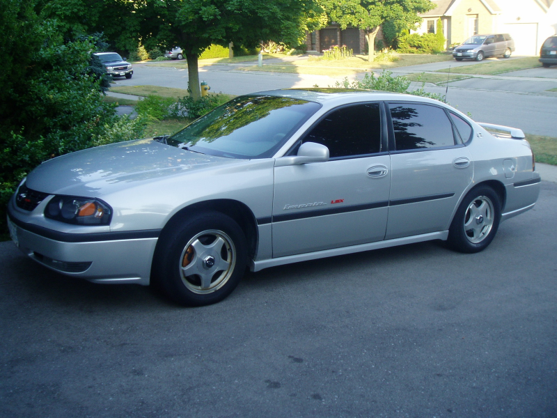 2002 Chevrolet Impala LSX (NOW), exterior
