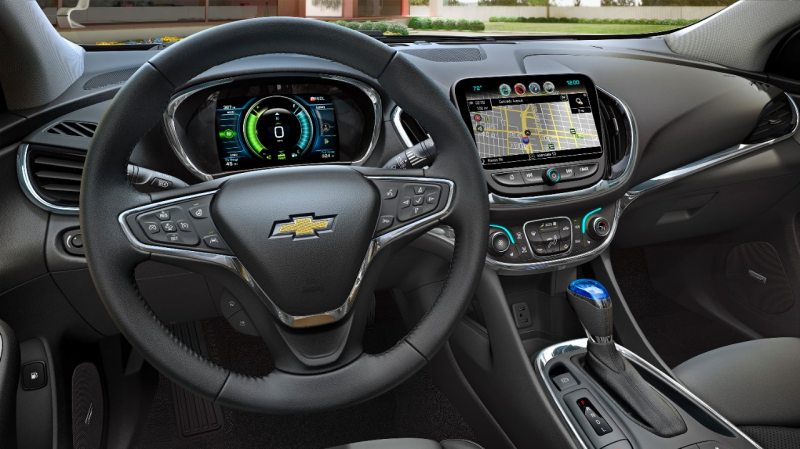 2016 Chevrolet Volt – Interior Design With Critical Seating For 5