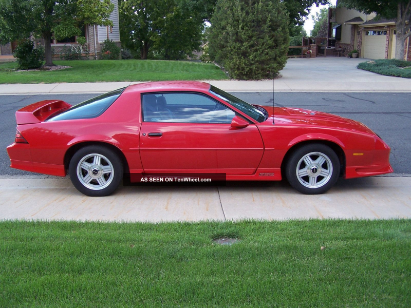 1991 Chevrolet Camaro Z28 Coupe 2 - Door 5. 7l Camaro photo 7