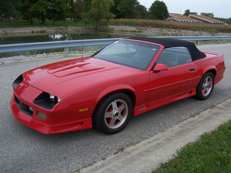 Picture of 1991 Chevrolet Camaro Z28 Convertible, exterior