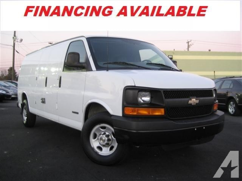 2005 Chevrolet Express 2500 Cargo for sale in Fredericksburg, Virginia