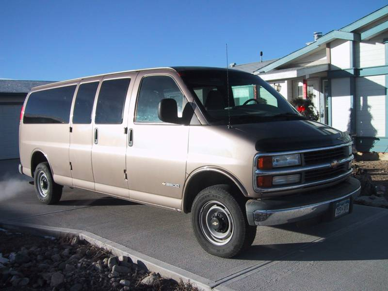 Bike Hauler - Chevy Express2001