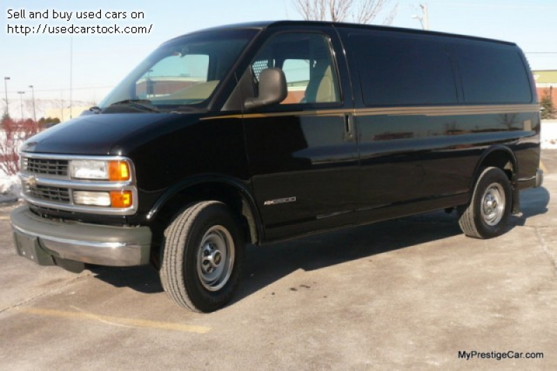 Pictures of 2000 Chevrolet Express 2500 Cargo - $4,450: