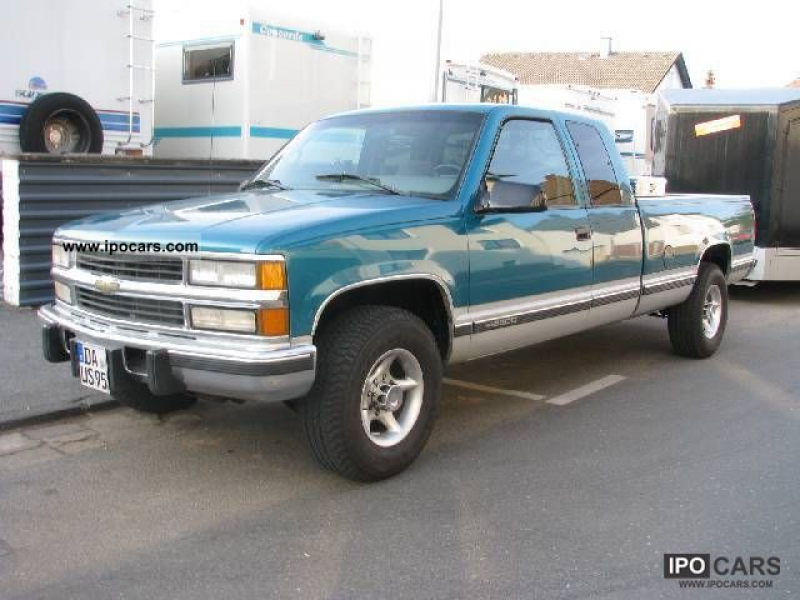 1996 Chevrolet 2500 Silverado particulate Off-road Vehicle/Pickup ...