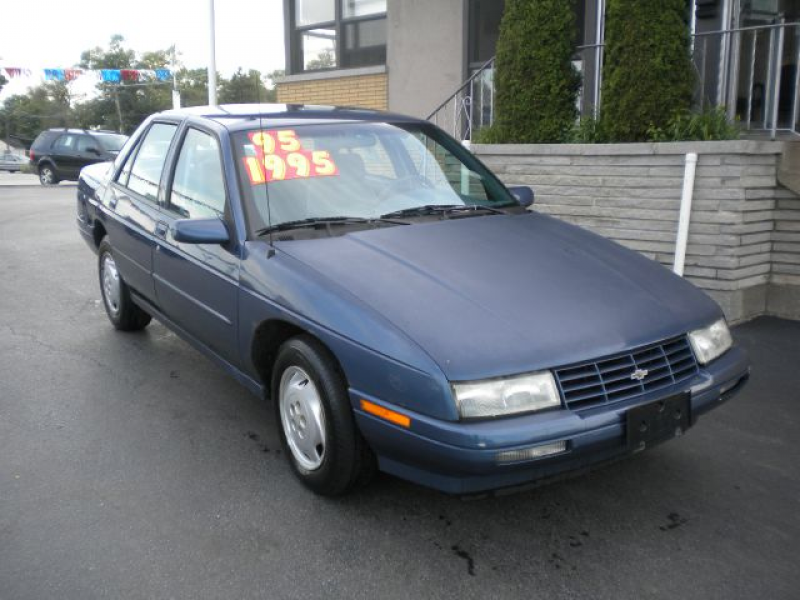 Used 1995 Chevrolet Corsica for sale. | Blue 1995 Chevrolet Corsica ...