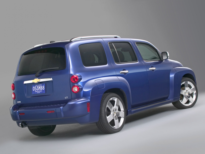 2006 Chevy HHR 2LT - Rear Angle - Studio - 1024x768 Wallpaper