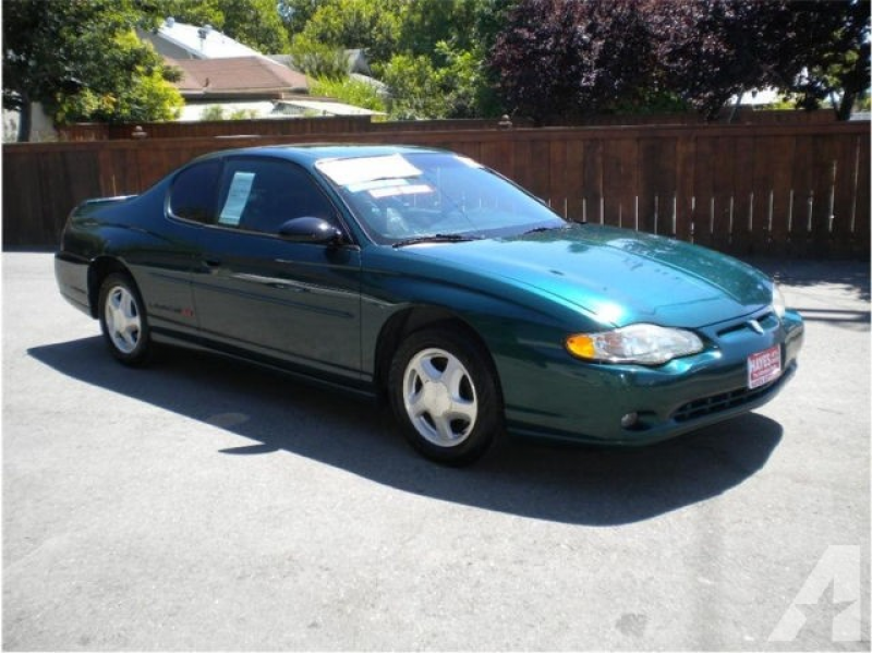 2000 Chevrolet Monte Carlo SS for sale in Roseville, California