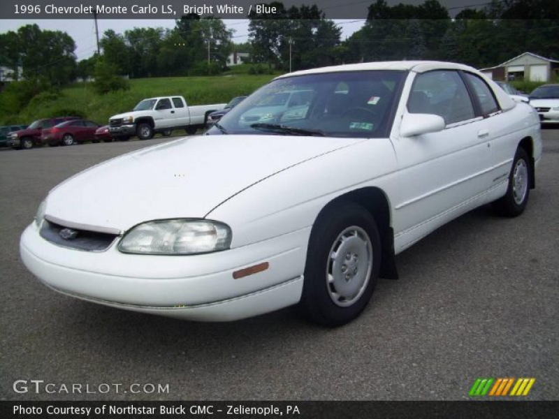 1996 Chevrolet Monte Carlo LS in Bright White. Click to see large ...