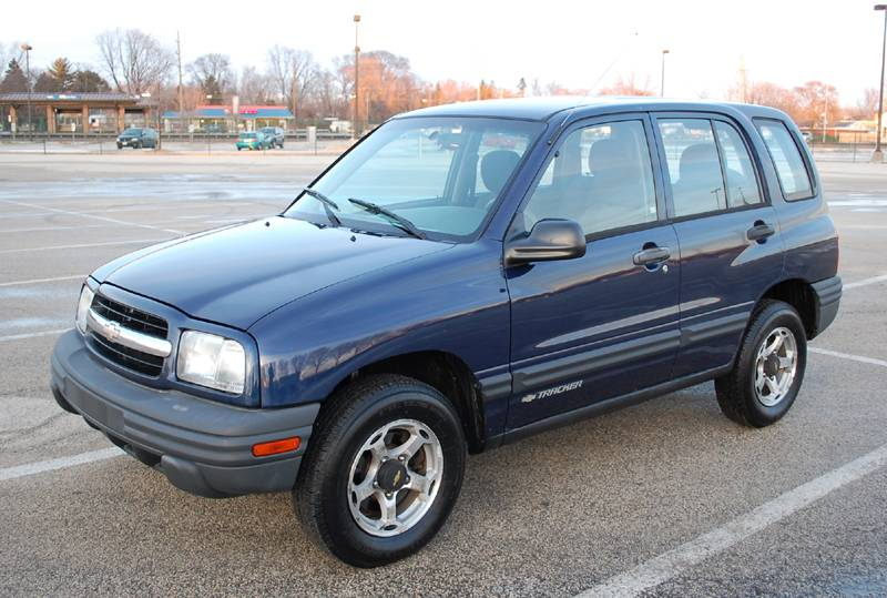 2000 Chevrolet Tracker SUV 4D, 4x4, One Owner