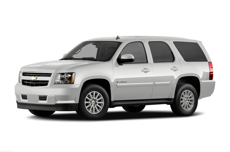 2011 Chevrolet Tahoe Hybrid SUV Base 4x2 Exterior Front Side View