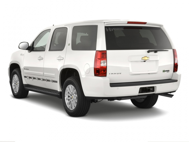2010 Chevrolet Tahoe Hybrid 2WD 4-door Angular Rear Exterior View