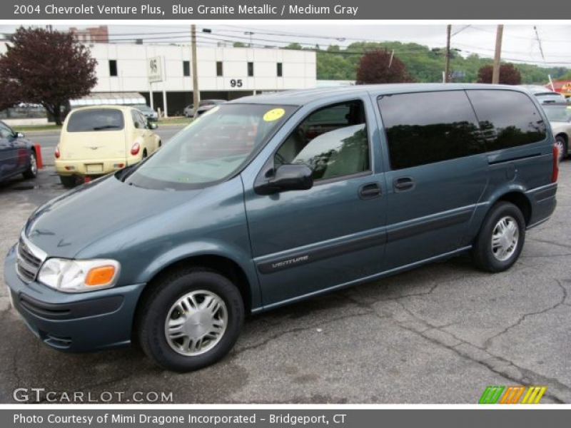 2004 Chevrolet Venture Plus in Blue Granite Metallic. Click to see ...